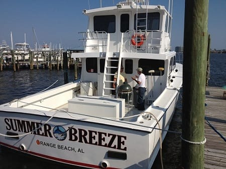 Summer Breeze Gulf Rebel Charter Fleet