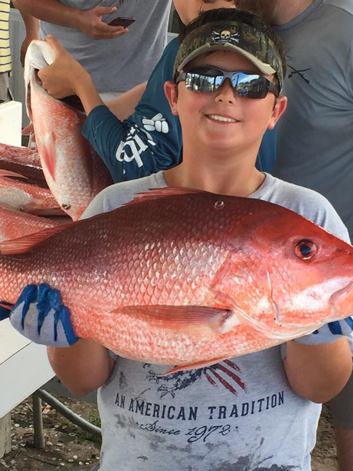 Red Snapper Fishing Trips in Orange Beach, AL