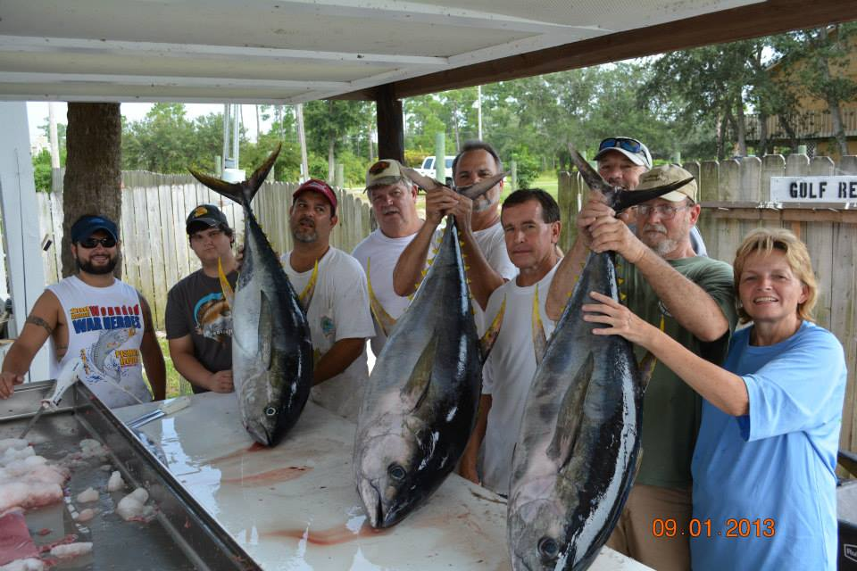 Overnight Yellowfin Tuna Fishing Trips